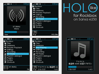 HOLOlike for Rockbox by iron2000