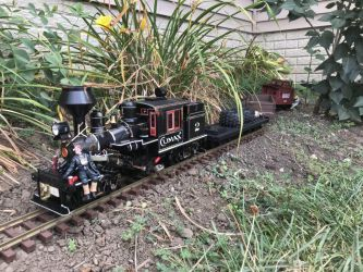G Scale Custom Climax Locomotive by MidwestLocoWorksMLW