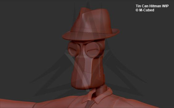 Tin Can Hitman Wip by M-Cubed