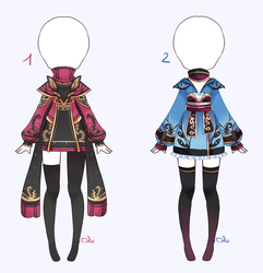 {Open 2/2} SB 8$ - Auction Outfit 283 - 284 by xMikuChuu