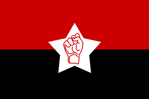 Revolutionary Army Flag by Party9999999