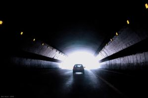 Light at the end of the Tunnel by BenHeine