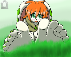 Milla: Green by Hail2DSparkZone