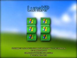 LunaXP Orb for Windows 7 by Diamond00744