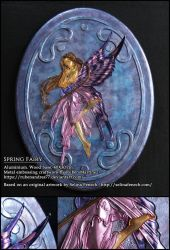 Spring Fairy - metal emboss by Rubenandres77