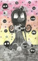 Soot Girl meets the soot sprites 2 by Little-Horrorz