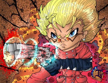 Ace Gunman, Vash the Stampede -Trigun by TheTigerMaster