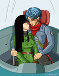 Trunks*Mai - A new Hope by almasy87