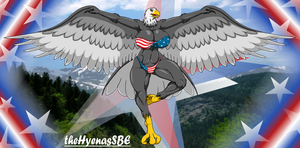 Eagle from the U.S.A by theHyenasSBE