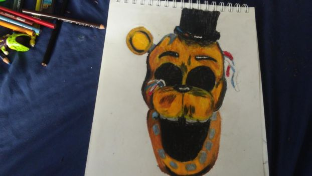 golden freddy by Th3Tur3GodMrbl3ach