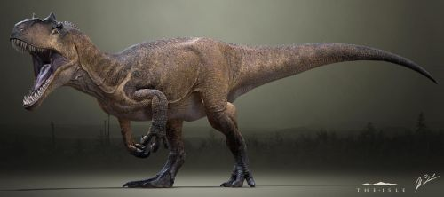 Allosaurus fragilis - The Isle by LittleBaardo