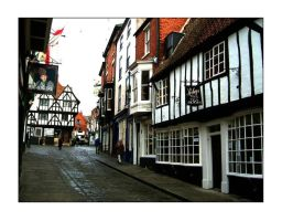 A Very English Street by DAMIOR-IDELBY