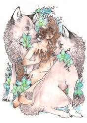 wolf princess | ORCHID by SZOPISKO