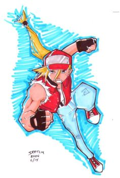 Terry from Fatal Fury by emopunk19