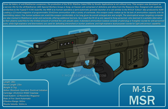 M-15 MSR by MOAB23