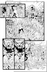 X-Men First Class Inks by RogerOtt