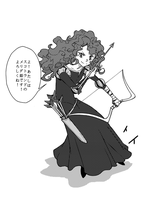manga merida by tinhan