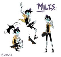 Miles Sketch Page by DIN0LICH