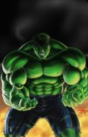 HULK - by Jason Metcalf by JMan-3H