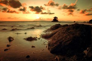 Stone of a Beach 3 by hilmanfajar