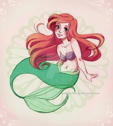 Ariel by Marmaladecookie