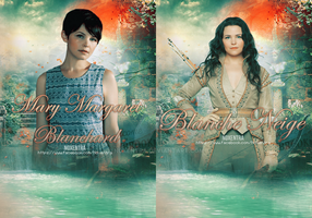 Mary Margaret Blanchard / Snow White by N0xentra