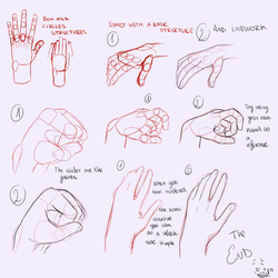 Hands tutorial [Edit! ] by SouOrtiz