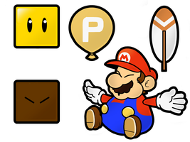 Super Paper Mario World: Junk by The-PaperNES-Guy