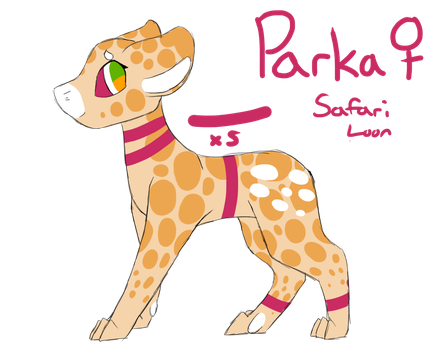 Parka ~ Safari Evoloon Approval by Wintercat96