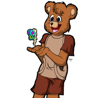 Teddy ruxpin by sleet-the-wolf