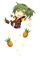Pineapple by Raeyxia