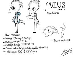 Avius (Alien Species) by MoonlightWolf17