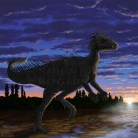 Anomoepus for Dinosaur State Park, CT by MicrocosmicEcology
