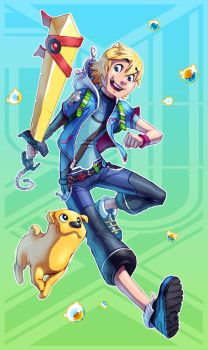 Adventure Time + Kingdom Hearts (FSRX 15) by ZedEdge