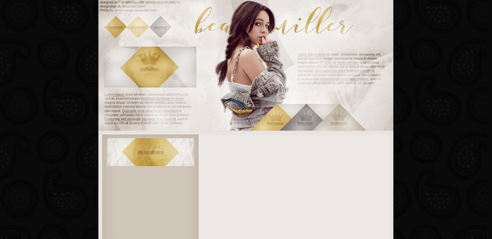 free design ft. Bea Miller by designsbyroth