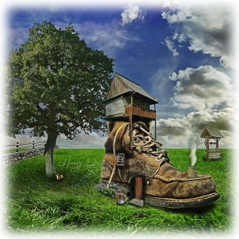 Boot House by HayzPaling