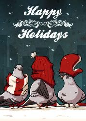 Holiday Card 2k9 by basalt
