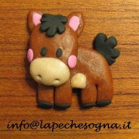 horse magnet by lapechesogna