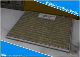 Imaginary Product Doormat by MAEDesign