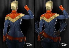 Captain MarvellAss by sknng