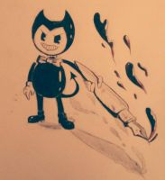 Bendy the Demon~ by SpunketPunk