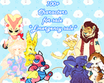 100+ CHARACTERS FOR SALE!! *URGENT* (updated) by irlnya