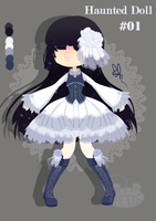 [Auction] Haunted Doll #01 [CLOSED] by ShatteredSightAdopts