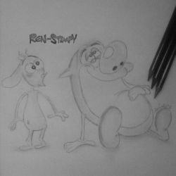 Ren and Stimpy by RicCasino