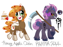 :CLOSED:2016 Fall/Halloween Pony Adopts :CLOSED: by equinepalette