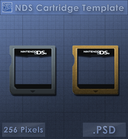 NDS Cartridge Icon [Template] by VoidSentinel