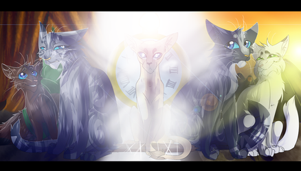 Jayfeather and Jay's Wing (Warrior Cats) by WarriorCat3042