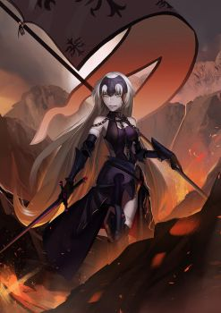 Fate / Jeanne d'Arc (alter) by kahmurio