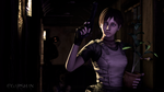 Rebecca Chambers - little S.T.A.R in the dark by Egarshan