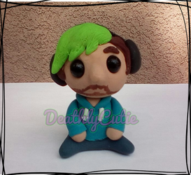 Jacksepticeye Hand Made Figure by DeathlyCutie